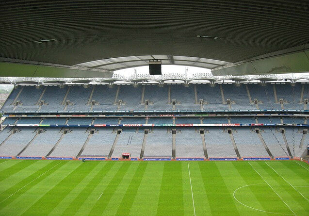 Croke Park National GAA Stadium, Dublin.